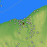 Nearby Forecast Locations - Parma - Map