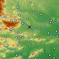 Nearby Forecast Locations - Ptuj - Map