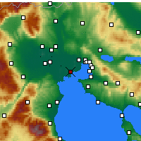 Nearby Forecast Locations - Chalastra - Map