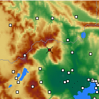 Nearby Forecast Locations - Exaplatanos - Map