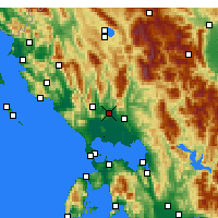 Nearby Forecast Locations - Filippiada - Map