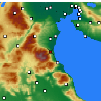 Nearby Forecast Locations - Litochoro - Map
