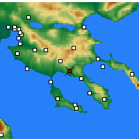 Nearby Forecast Locations - Ormylia - Map