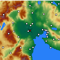 Nearby Forecast Locations - Platy - Map