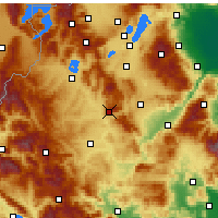 Nearby Forecast Locations - Siatista - Map