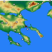Nearby Forecast Locations - Stagira-Akanthos - Map