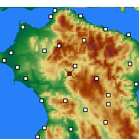 Nearby Forecast Locations - Tropaia - Map