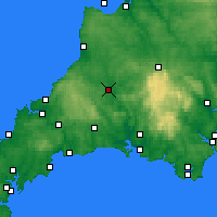 Nearby Forecast Locations - Launceston - Map