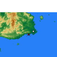 Nearby Forecast Locations - Suva - Map