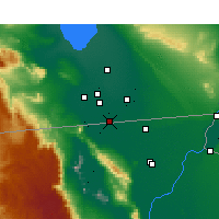 Nearby Forecast Locations - Calexico - Map
