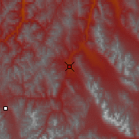 Nearby Forecast Locations - Challis - Map