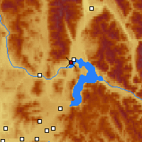 Nearby Forecast Locations - Sandpoint - Map