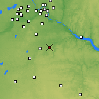 Nearby Forecast Locations - Stanton - Map