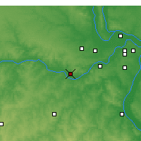 Nearby Forecast Locations - Washington - Map