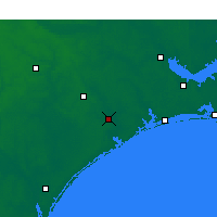 Nearby Forecast Locations - Jacksonville - Map