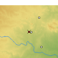 Nearby Forecast Locations - Altus - Map