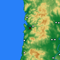 Nearby Forecast Locations - Tillamook - Map