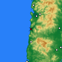 Nearby Forecast Locations - Pacific City - Map