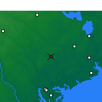 Nearby Forecast Locations - Walterboro - Map