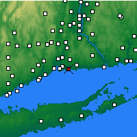 Nearby Forecast Locations - Branford - Map