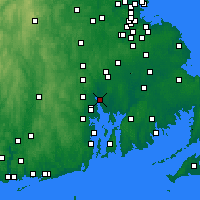 Nearby Forecast Locations - East Providence - Map