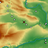 Nearby Forecast Locations - Sunnyside - Map