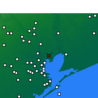 Nearby Forecast Locations - Baytown - Map