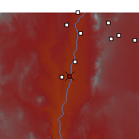 Nearby Forecast Locations - Belen - Map