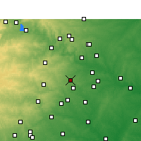 Nearby Forecast Locations - Buda - Map