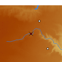 Nearby Forecast Locations - Canyon - Map