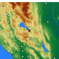 Nearby Forecast Locations - Clearlake - Map