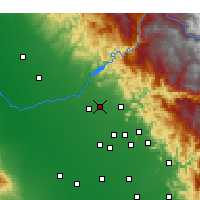 Nearby Forecast Locations - Clovis - Map