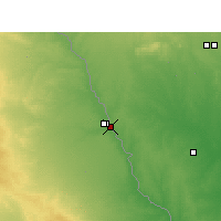 Nearby Forecast Locations - Eagle - Map