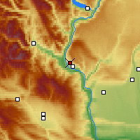 Nearby Forecast Locations - East Wenatchee - Map