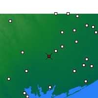 Nearby Forecast Locations - El Campo - Map