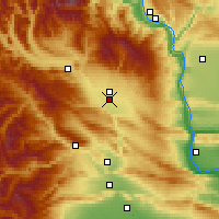 Nearby Forecast Locations - Ellensburg - Map