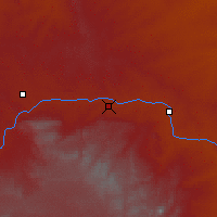 Nearby Forecast Locations - Glenrock - Map