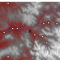 Nearby Forecast Locations - Glenwood Springs - Map