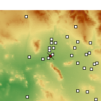 Nearby Forecast Locations - Goodyear - Map