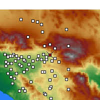 Nearby Forecast Locations - Highland - Map