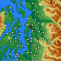 Nearby Forecast Locations - Kenmore - Map