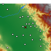 Nearby Forecast Locations - Kingsburg - Map