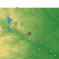 Nearby Forecast Locations - Leander - Map