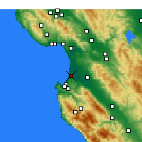 Nearby Forecast Locations - Marina - Map