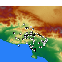Nearby Forecast Locations - Mission Hills - Map