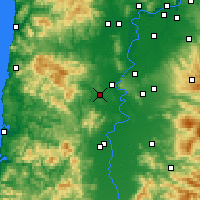 Nearby Forecast Locations - Monmouth - Map