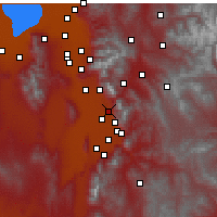 Nearby Forecast Locations - Orem - Map