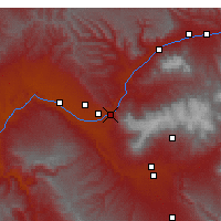 Nearby Forecast Locations - Palisade - Map