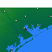 Nearby Forecast Locations - Port Lavaca - Map