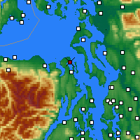 Nearby Forecast Locations - Port - Map